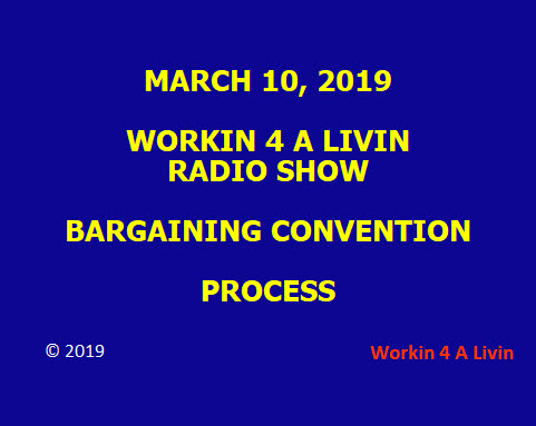 UAW Bargaining Convention Process
